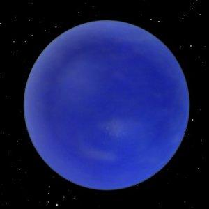 neptune planet 3d model