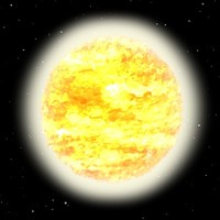 sun stars 3d model