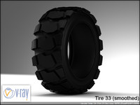 tire wheels 33 3d model
