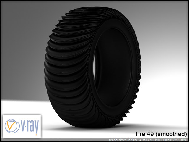 tire wheels 49 3d model