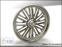 wheel 28 3d model