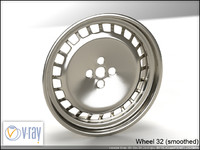 wheel 32 3d model