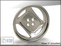 wheel 37 3d model