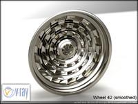 wheel 42 3d model