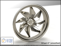 wheel 47 3d model
