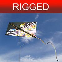 kite Nº2 rigged