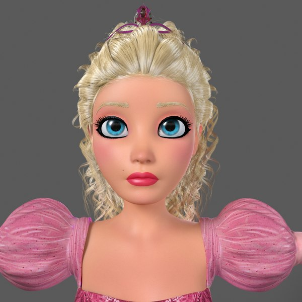 cartoon princess bella 3ds