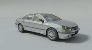 peugeot 607 3d model