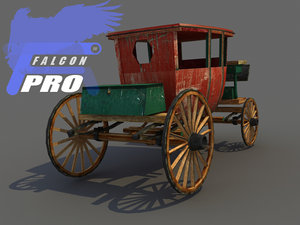 ready carriage 3d model
