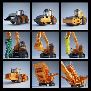 construction equipment - 3d model