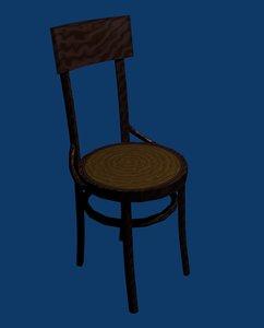 chair blender 3d model
