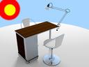 manicure table 3D models