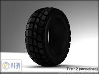 tire 12 3d model