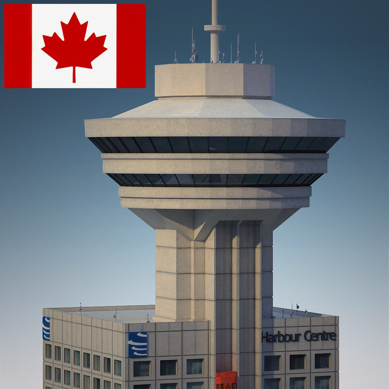 vancouver lookout - building 3d model