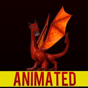 red dragon 3d model