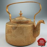 old kettle 3d model