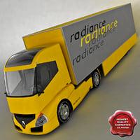 renault radiance trailer 3d model