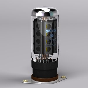vacuum tube 3d model