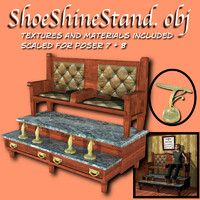 shoe shine 3d model