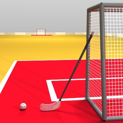floorball ball 3d model