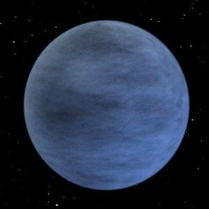 pluto planet 3d model
