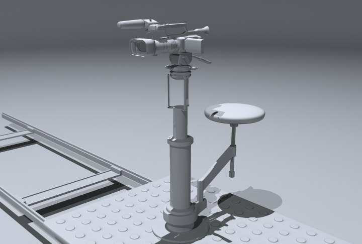 camera pd traveling 3d model