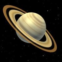 saturnus planet 3d model