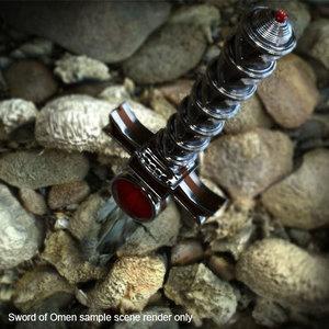 lion-os sword omen thundercats 3d model