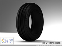 tire wheels 21 3d model