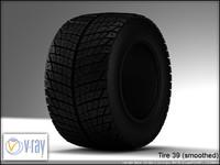 tire 39 3d model