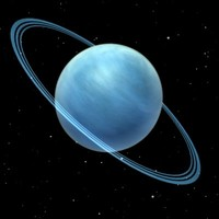 uranus planet 3d model