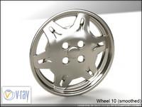 wheel 10 3d model