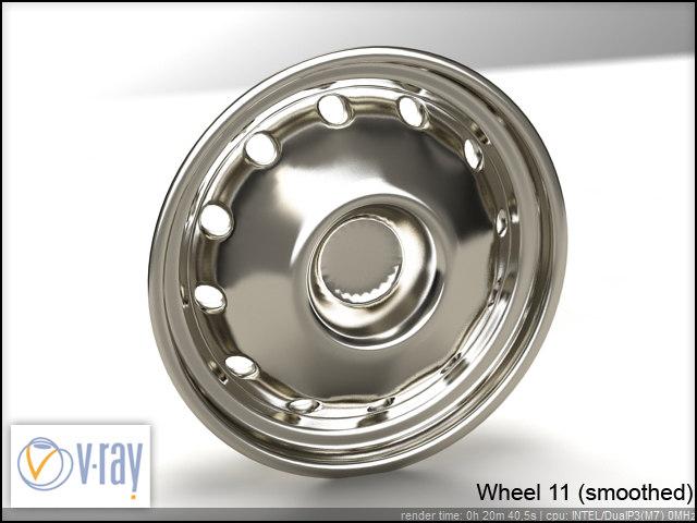 wheel 11 3d model
