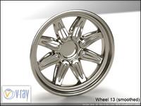 wheel 13 3d model
