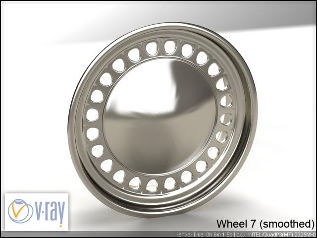 wheel 7 3d model