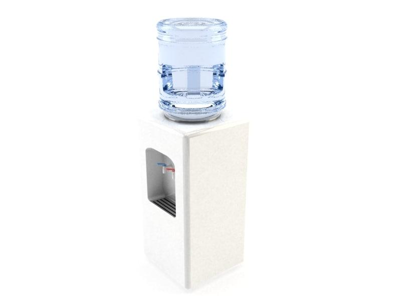 water dispenser cooler 3d model