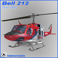 Bell 212 San Diego Fire Department