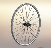 wheel rear mountain bike 3d model