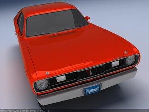 duster 70-71 3d model