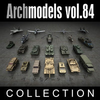 archmodels vol 84 military trucks 3d model