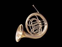 classical corno 3d model