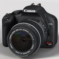 canon digital rebel 12 3d model