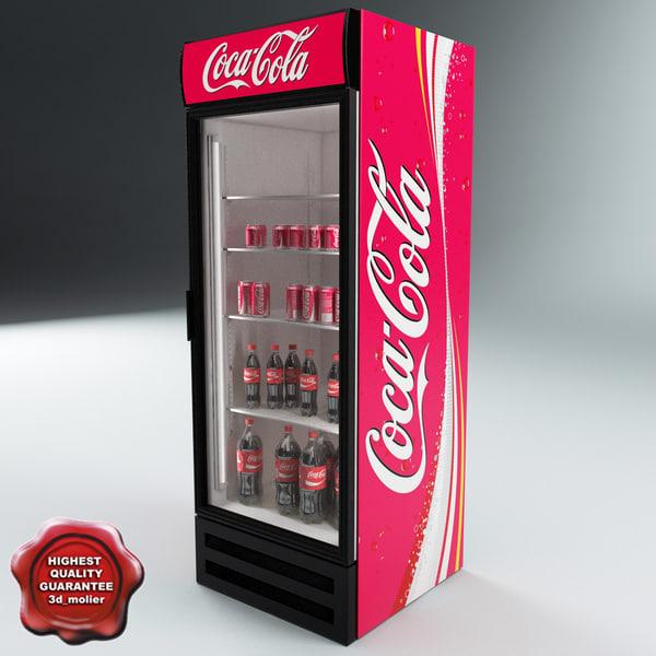 coca cola v3 3d model