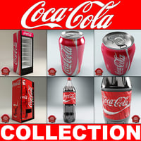 coca cola v4 vending machine 3d model