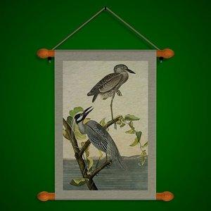 wall cranes fr 3d model