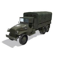 gmc cckw 353 3d model