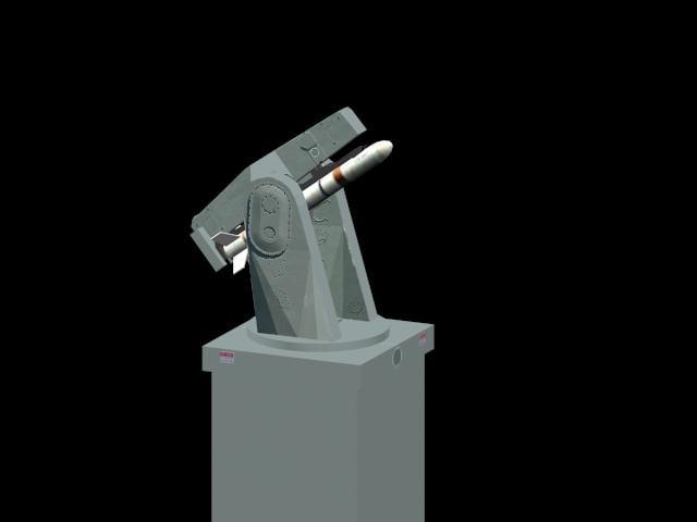 mk 13 22 missile 3d model