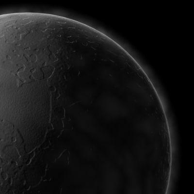 planet 3d model