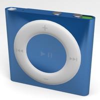 ipod shuffle apple 3d model
