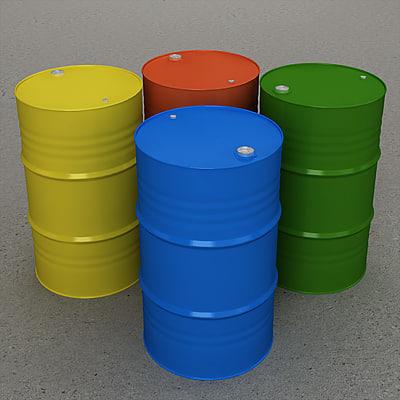 barrel contains 3d model